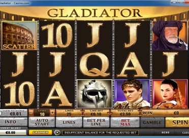Gladiator Game View