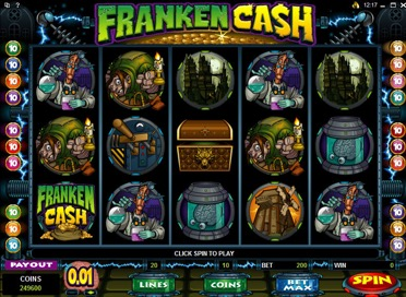 Franken Cash Game View